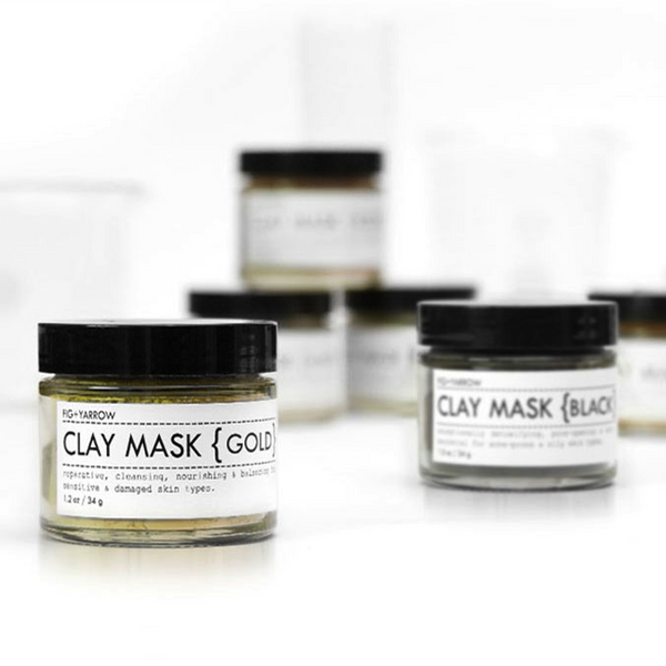 Fig & Yarrow Clay Masks