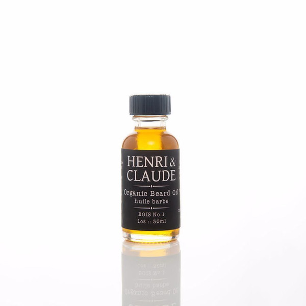 Henri & Claude Organic Beard Oil