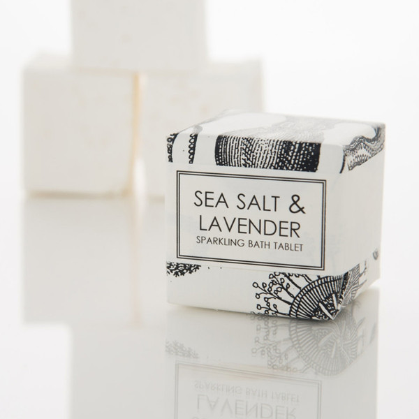 Sea Salt and Lavender Bath Fizzy