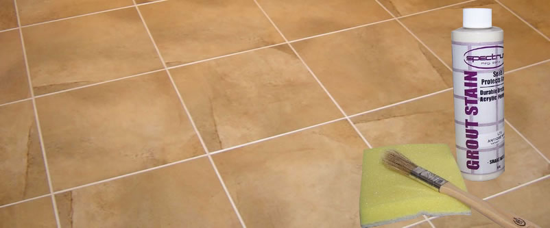Spectrum grout colorant