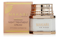 MAKARI 24K GOLD NIGHT TREATMENT JAR CREAM 3.38OZ/100ML