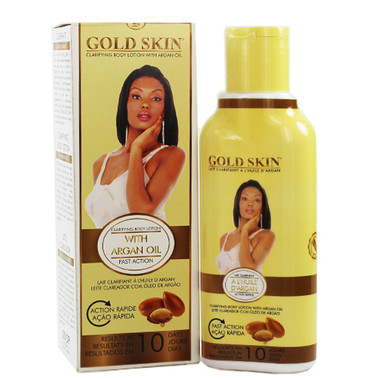 Gold Skin Fast Action Clarifying Body Lotion With Argan
