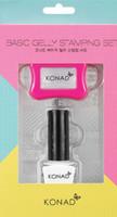 Konad basic Gelly Stamping Set (Pink)