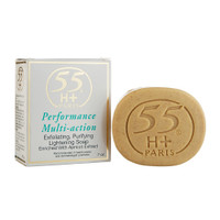 55H+ Soap Multi Action Lightening Exfoliating 7 oz / 200 g