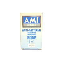 Ami White Anti Bacterial Soap (Blue) 3.5 oz / 100 g