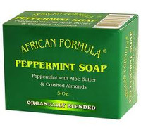 African formula Peppermint Soap 5oz.