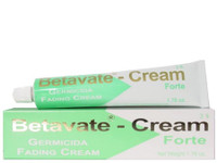 Betavate Germicida Fading 3% Tube  Cream 1.76 oz / 50 ml.