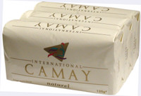 Camay Natural(White) Soap 3 PC 4.4 oz/125g * 3