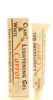 Clair & White Lightening Carrot Gel 1oz / 30ml