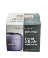 Claudia Stevens Equatone Hand & Body Toning cream 1.5oz/42.5g