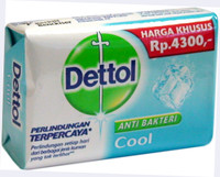 Dettole Cool Soap 4 oz / 110 g