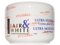 Fair & White Original Jar Cream (White) Ultra Moisturizing Body 13.5 oz / 400 ml