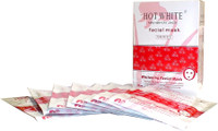Hot White Whitening Facial Mask 8 Mask/Box