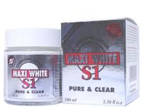 Maxi White S1 Pure & Clear Jar Cream 3.38 oz / 100 ml