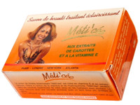 Meti Cee Skin lightening Carrot Soap 7 oz / 200 g