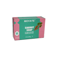Movate Carrot Soap 3 oz / 85 g