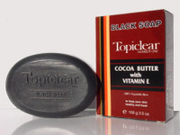 Topiclear Black Soap 3.5 oz / 100 g