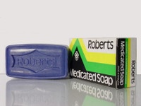Roberts Medicated Soaps: Roberts Medicated Soap 3.18 oz / 90 g