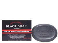 African Formular Black Cocoa Butter Soap 3.5 oz / 100 g