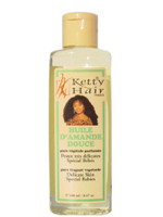 Ketty Hair Fragrant Vegetable Oil (D'AMANDE) 8.47 oz / 100 ml