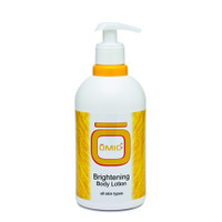 Omic Brightening Body Lotion Gold 16.9 oz / 500 ml