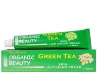 Organic Green Tea Skin Lightening Tube Cream 1.76 oz / 50 g