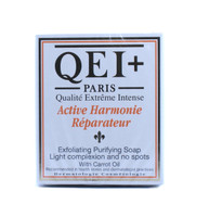 QEI+ Exfoliating Purifying Soap Light complexion and no spots with carrot oil 7 oz / 200 g