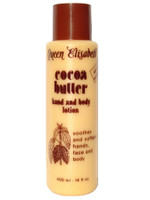 Queen Elisabeth Cocoa Butter Lotion 14 oz / 400 ml