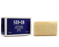 SH18 soap Apricot Exfoliating (Blue) 7 oz/ 200g