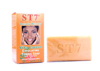 ST7 Vita Carrot Exfoliating Toning Soap Organic Beauty with Vitaclaire & Kernel Peach Powder 7.0oz