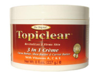 Topiclear 3 in 1 jar cream 8 OZ