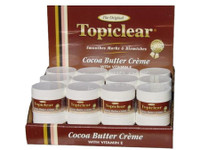 Topiclear Cocoa Butter Jar Cream 2 oz / 35.7 g