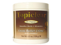 Topiclear Cocoa Butter Jar Cream 4.5 oz / 128 g