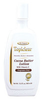 Topiclear cocoa butter gold lotion 14 OZ