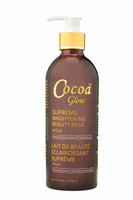 Cocoa Glow Supreme Brightening Milk (Pump Lotion) 16.8 oz / 500ml