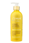 Lemon Glow Ultimate Lightening Beauty Milk (Pump Lotion) 16.8 oz / 500ml