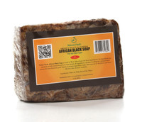 Nature Fresh Premium Select All Natural African Black Soap 16oz / 480g