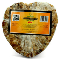 Nature Fresh African Black Soap (Heart) 6 oz / 480g