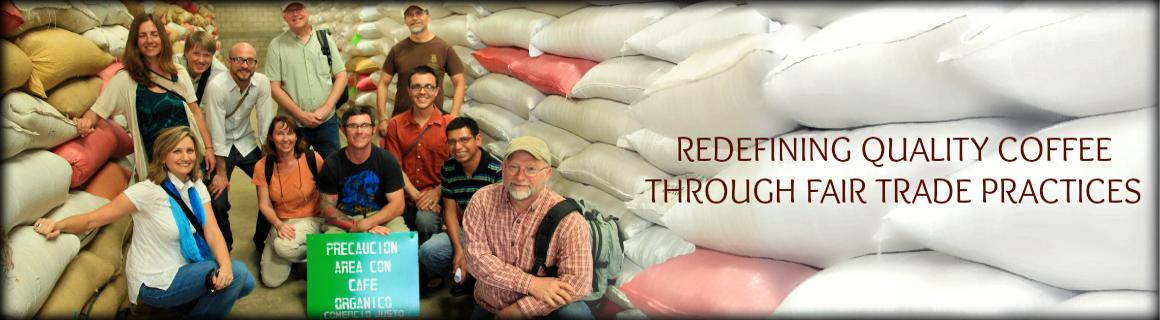 Redefining quality coffee through fair trade prices