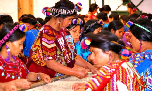 chajulel quiche guatemala 2013 women sorting coffee