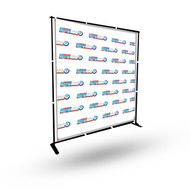 8'X8' Step & Repeat Banner with Stand