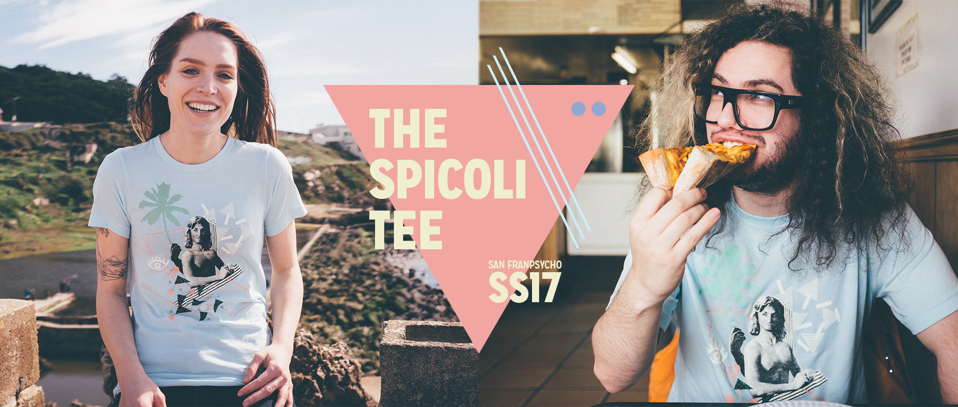 Introducing the Spicoli Tee!