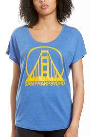 Blue & Gold Logo Dolman