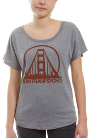 Grey & Red Logo Dolman