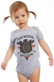 Take Meeeow to the Ballgame Onesie