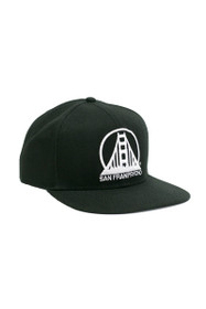 Black Bridge Logo Snapback