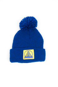 Warriors Pom Beanie