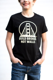 Build Bridges Not Walls Youth Tee