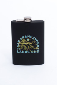 Wave Skull Lands End Flask