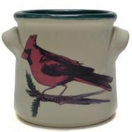 Small Crock - Cardinal